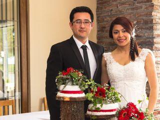 El matrimonio de Zarelly y Helber