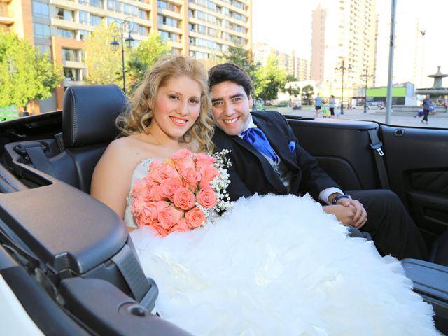 El matrimonio de Marcela y Alex