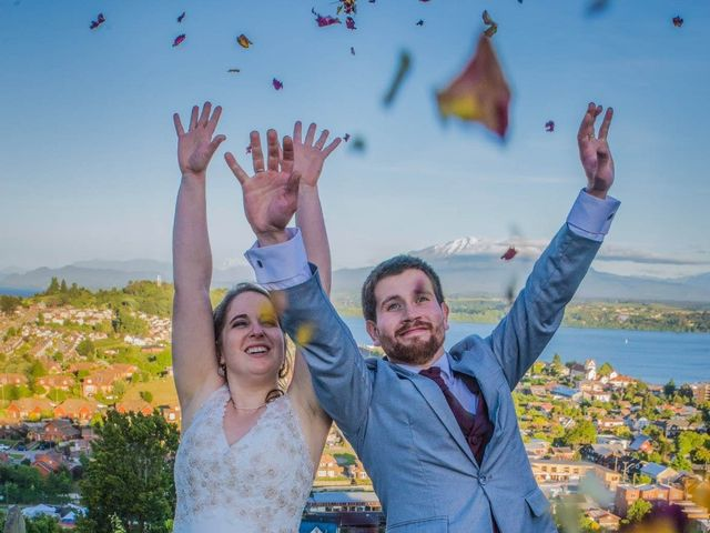 El matrimonio de César y Natalia en Puerto Varas, Llanquihue 5