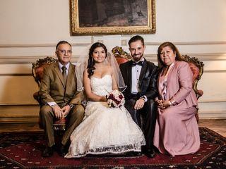 El matrimonio de Andrés  y Daniela  1
