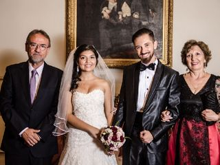 El matrimonio de Andrés  y Daniela  3