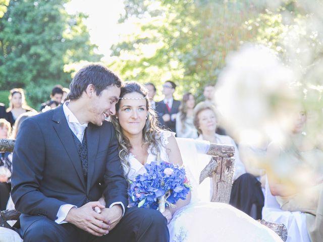 El matrimonio de María José y Bruno