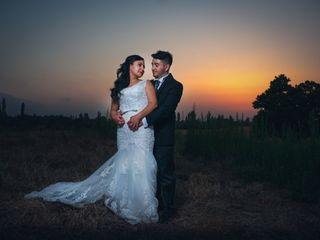 El matrimonio de Evelyn y Edson