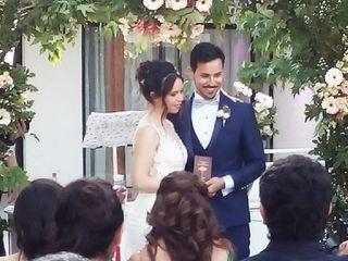 El matrimonio de Nicolás y Angelina 1