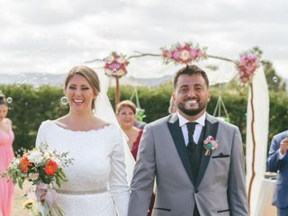 El matrimonio de  Veka y Niko