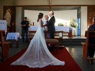 El matrimonio de Angélica María y Gabriel Benjamín