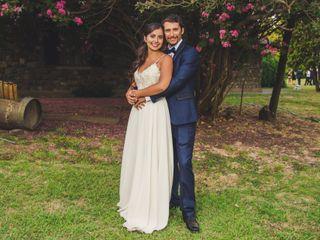 El matrimonio de Vania y Franco