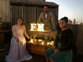 El matrimonio de Mariana y Fabián 1