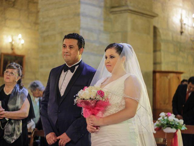 El matrimonio de María Angélica y Reynaldo