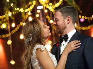 El matrimonio de Nathaly y Benjamín