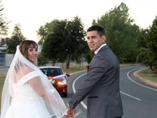 El matrimonio de Daisy y Máximo