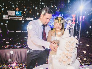 El matrimonio de Claudia y Sebastián 3