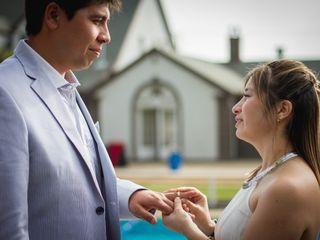 El matrimonio de Katherinne y Carlos