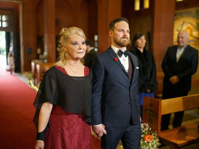 El matrimonio de Benjamín y Nathaly en La Reina, Santiago 16