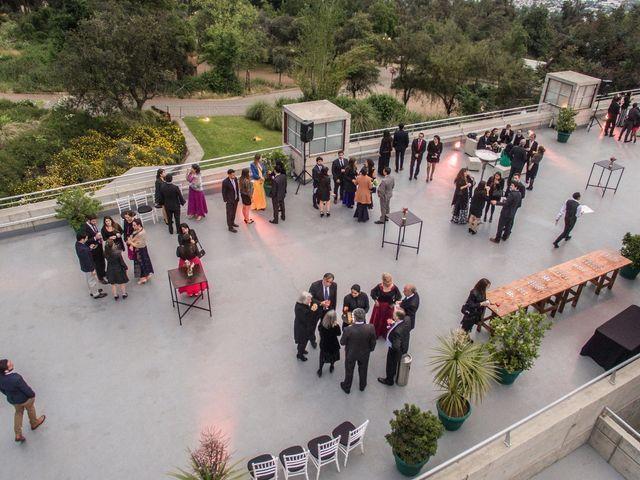El matrimonio de Benjamín y Nathaly en La Reina, Santiago 46