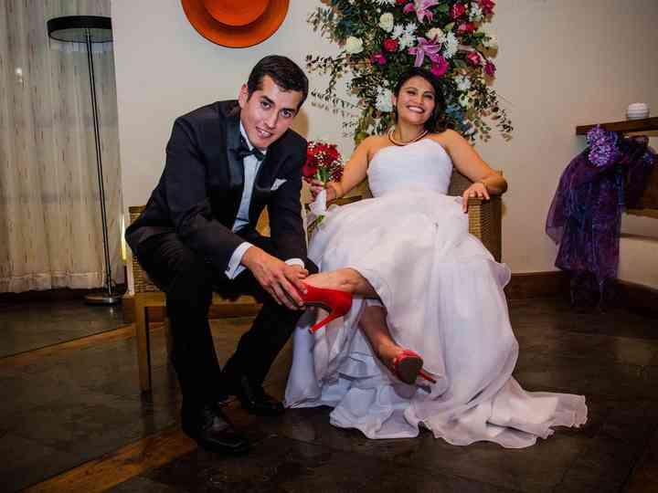 El matrimonio de Yanina y Jorge
