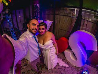 El matrimonio de Kelly y Sebastián