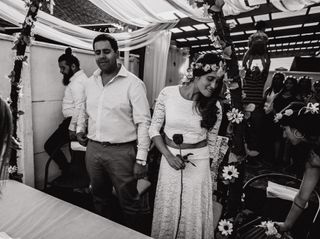 El matrimonio de Robespier y Yoselin 1