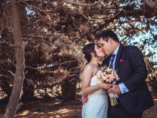 El matrimonio de Nayadeth y Diego