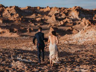 El matrimonio de Marcela y Andreas