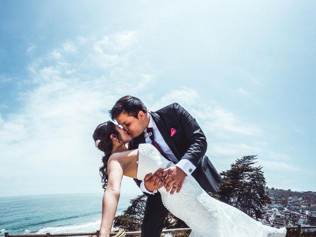 El matrimonio de Diego y Nayadeth en Concón, Valparaíso 11
