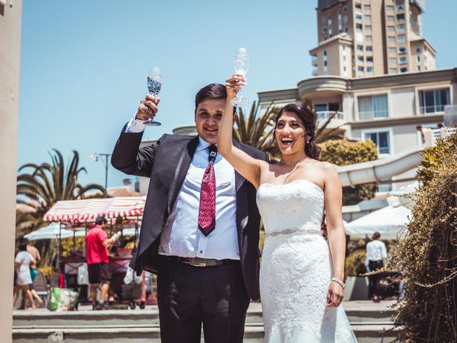El matrimonio de Diego y Nayadeth en Concón, Valparaíso 23