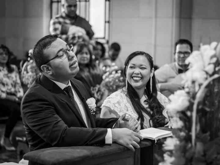 El matrimonio de Orisay y Willy