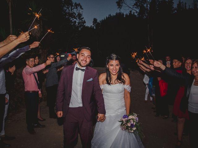 El matrimonio de Solange y Cristofer