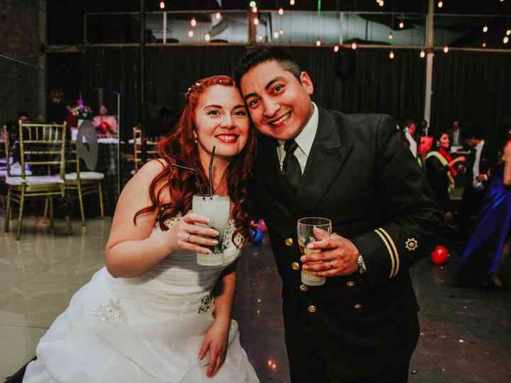 El matrimonio de Rebeca y Jhann