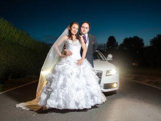 El matrimonio de Francesca y David