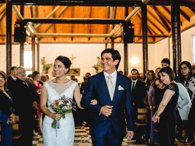 El matrimonio de Gonzalo y Victoria