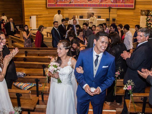 El matrimonio de Mariela y Martín
