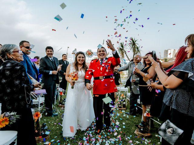 El matrimonio de Yasna y Mauricio