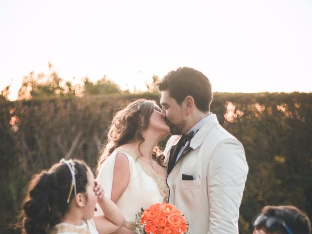El matrimonio de Romina y Antonio