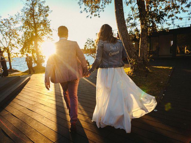 El matrimonio de Cona y Marcelo