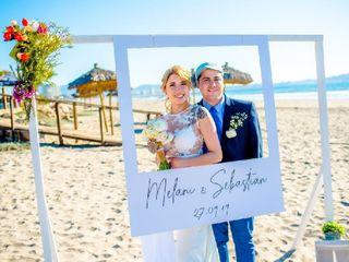 El matrimonio de Melani  y Sebastián