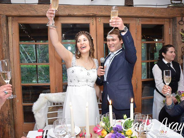 El matrimonio de Cristian y Gabriela