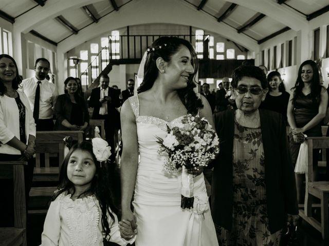 El matrimonio de Víctor y Yasmín en Linares, Linares 34