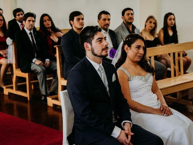 El matrimonio de Víctor y Yasmín en Linares, Linares 39