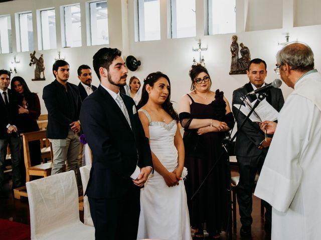 El matrimonio de Víctor y Yasmín en Linares, Linares 40
