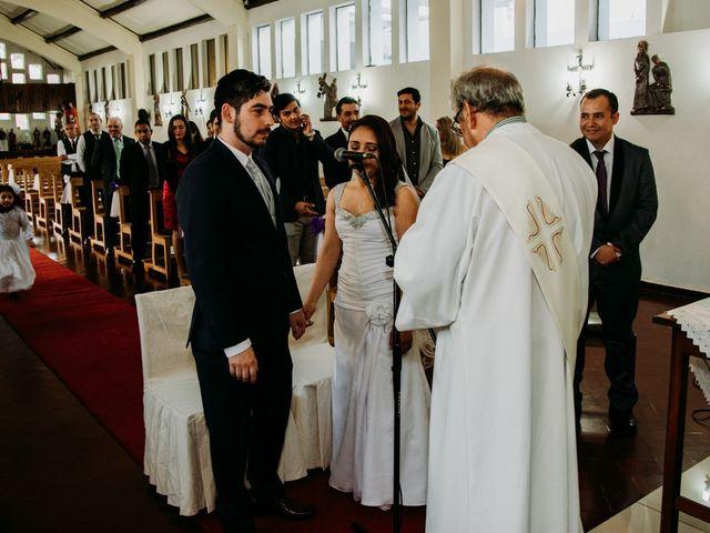 El matrimonio de Víctor y Yasmín en Linares, Linares 44