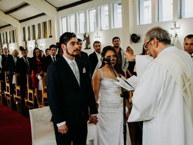 El matrimonio de Víctor y Yasmín en Linares, Linares 45