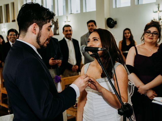 El matrimonio de Víctor y Yasmín en Linares, Linares 47
