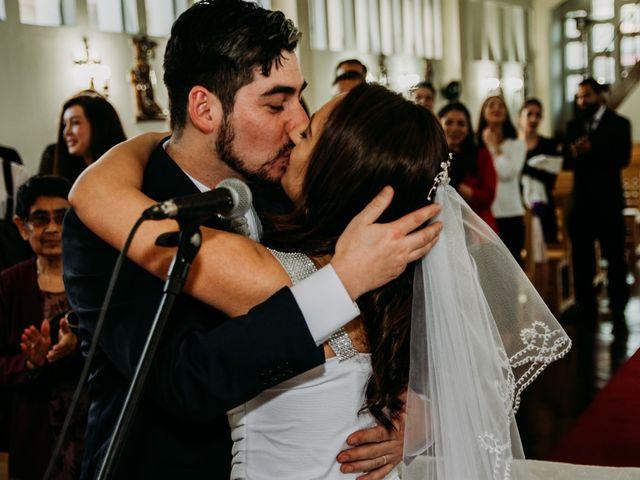 El matrimonio de Víctor y Yasmín en Linares, Linares 56