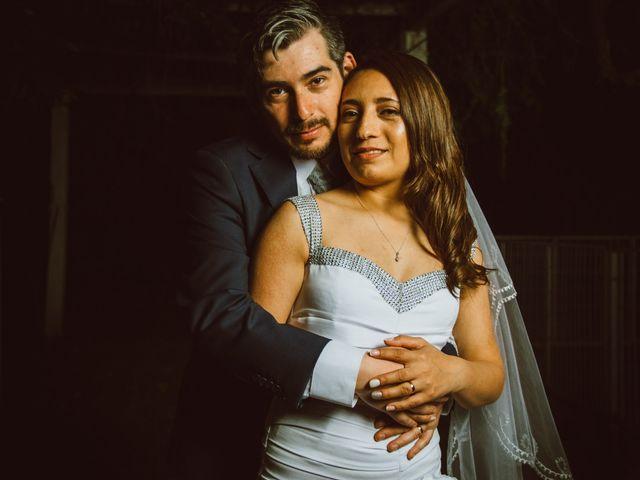 El matrimonio de Yasmín y Víctor
