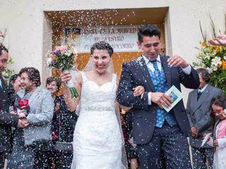 El matrimonio de Evelyn y Víctor