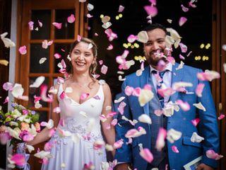 El matrimonio de Cote y Rafael