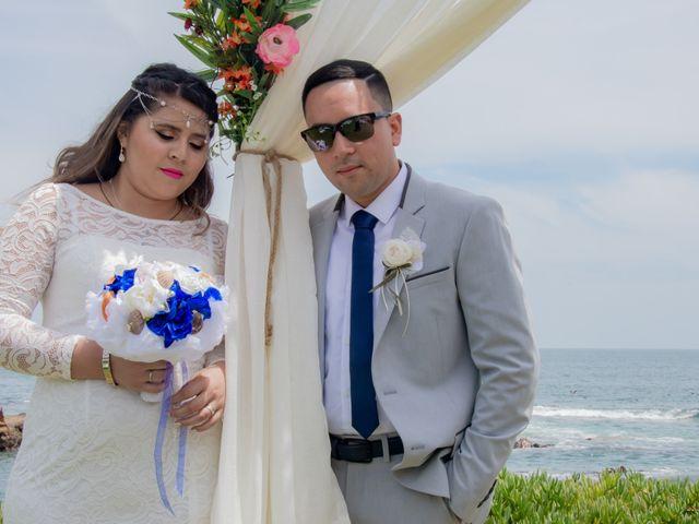 El matrimonio de Macarena y Eric