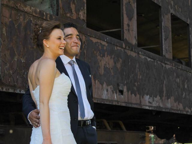 El matrimonio de Galina y Fabián