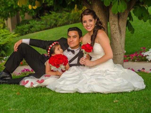El matrimonio de Carla y Matías
